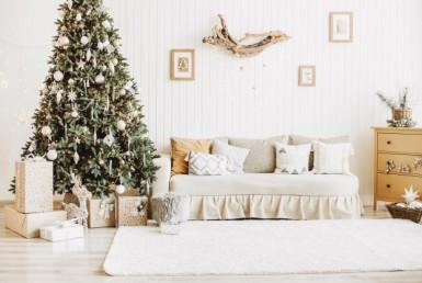 No olvides estas decoraciones navideñas para tu departamento